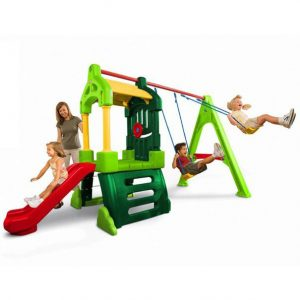 Clubhouse Swing Set Natural