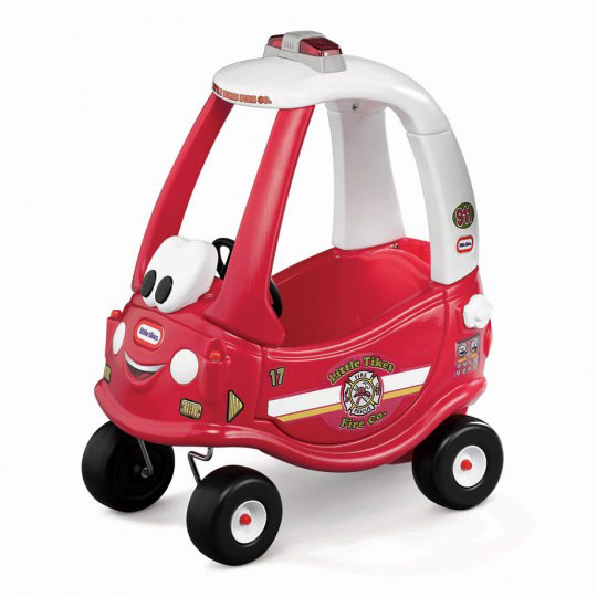 Cozy Coupe Fire Ride 'n Rescue